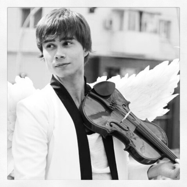 b) The Groom: Alexander Rybak, my favorite Ukrainian Concerto Violinist/Pop Star!