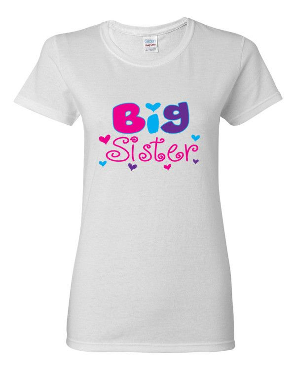 BIG SISTER Women's short sleeve t-shirt - Additional Color Choices