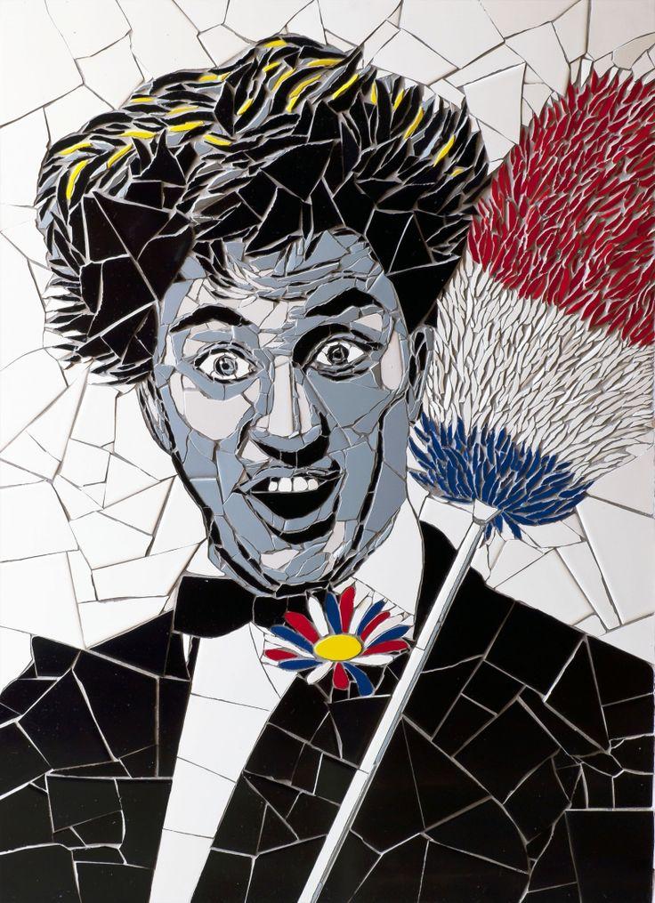 mosaic artwork shows off famous faces like youve never seen them before creative - Fantastisch Mosaik Flie
