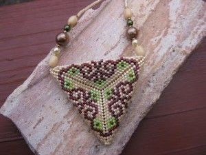Peyote Stitch Flat Triangle Beading Patterns