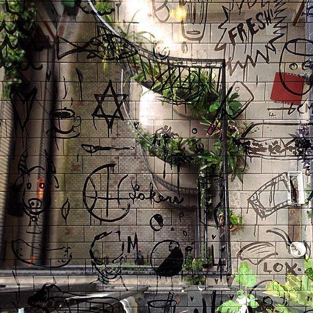 Graffiti meets flat scene - Budapest meets LA  double exposure. Double exposure project between myself and @justgroza #doubleexposure #multiexposure #multipleexposure #grafitti #flatscene #balcony #La #budapest #plants #dxe #dxp #twocitiesbudapestandla #c