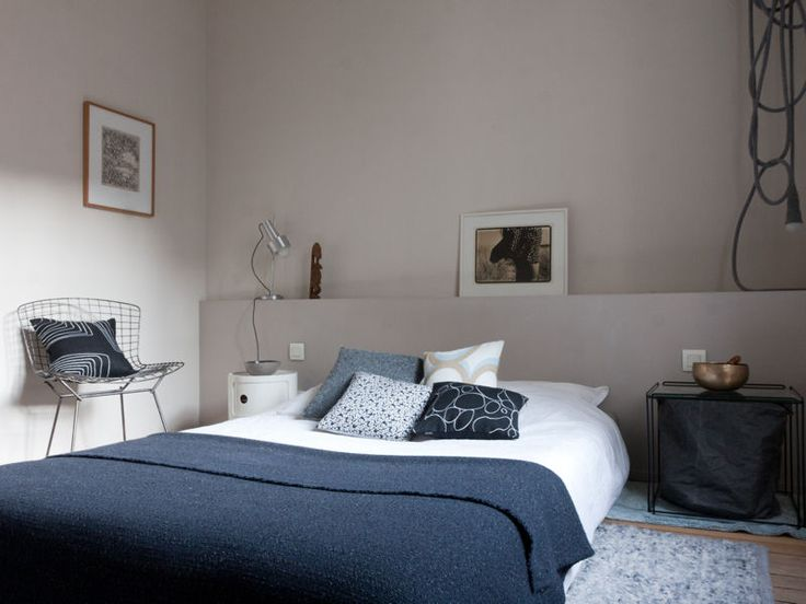 1953 best Bedrooms images on Pinterest Bedroom ideas, Master - chambre bleu gris blanc