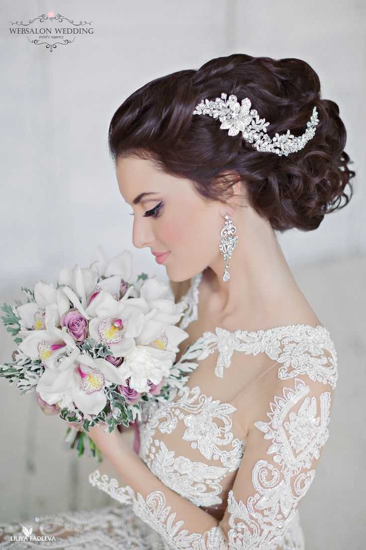 137 best Wedding Hair images on Pinterest | Wedding hair, Wedding ...