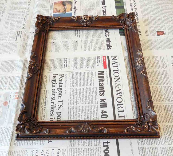 This made us want to drop everything and run out to buy picture frames!