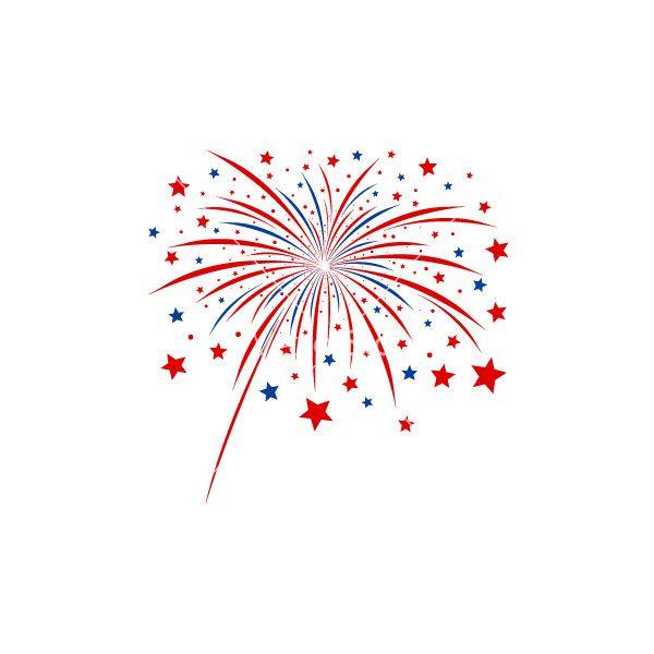 Firework Design On White Background Royalty Free Stock Vector Art Illustration