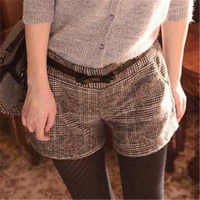 """Material Composition: cotton Fabric name: Cotton and linen Waist type: High waist size Waist Width/ Hip Width/ Short length M 32"""" 37.8 12"""" L 33.5 39 12.5"""" XL 35 41 13"""""""