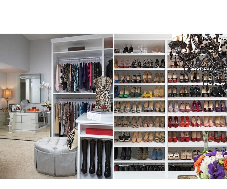 616 Best Gorgeous Walk In Closets Women Images On Pinterest