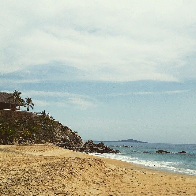 Sayulita — Blank Canvas Design Co.   Playa Carracitos in Sayulita, Mexico. A hidden gem - this and many more on our blog!