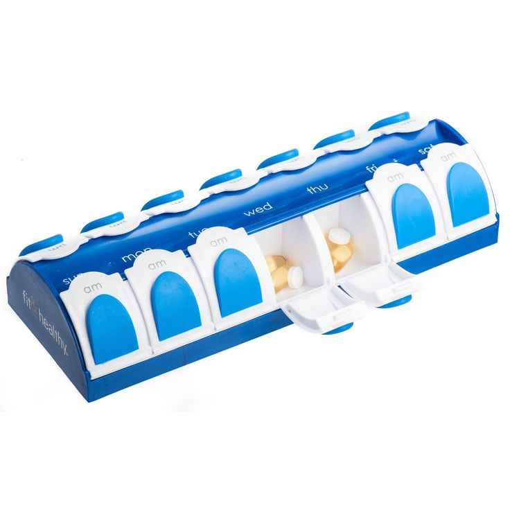 7 Day AM/PM Vitamin Pillbox and Pill Organizer Price : $7.32 http://shop.fit-fresh.com/Day-Vitamin-Pillbox-Pill-Organizer/dp/B003UWFAGY
