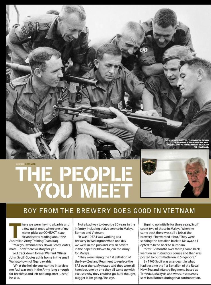 A Kiwi reminisces on Vietnam. Published in issue #8, December 2005