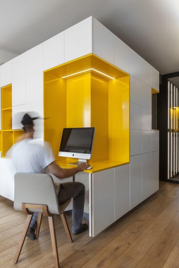 Buttes Chaumont: Byt plný elegantní hravosti | Insidecor - Design jako životní styl