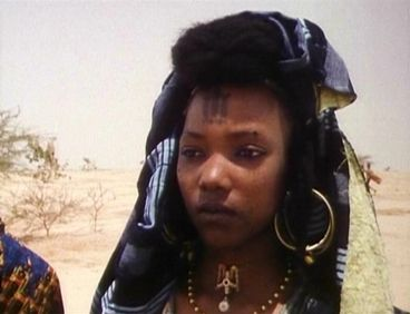 Moorish Wodaabe/Fulani Woman of Niger West Africa.
