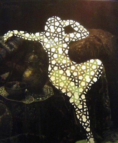 Sousan Luqman - Exotic Transfigurations 'Manovens Transfigured' 40cm x 36cm