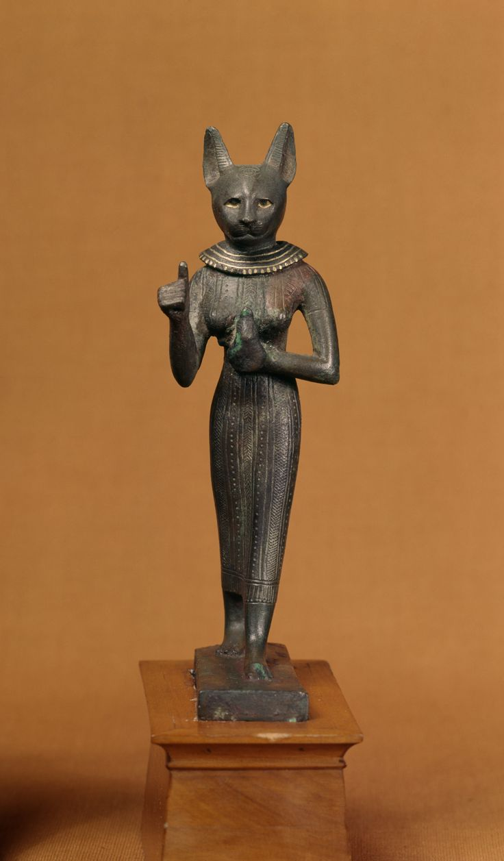 Bastet was usually seen as a gentle protective goddess.