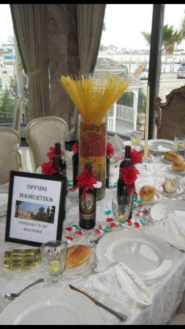 Images about italian centerpieces on pinterest