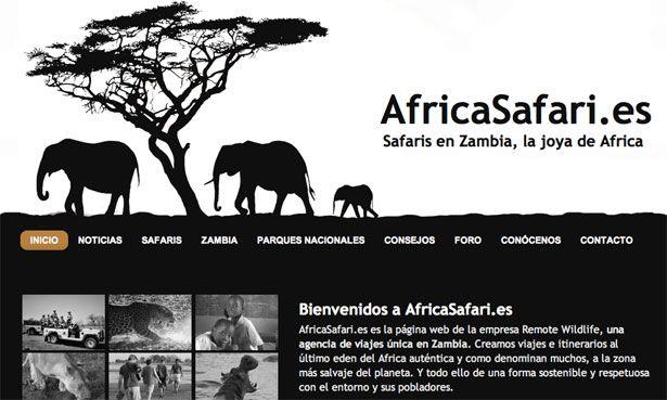 black & white website...love this so simple