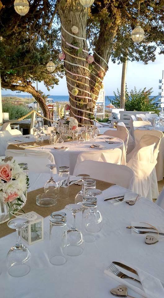 Styled by islandevents.gr at Yazoo Summer Bliss beach bar, on the beautiful Plaka beach in Naxos Greece.
