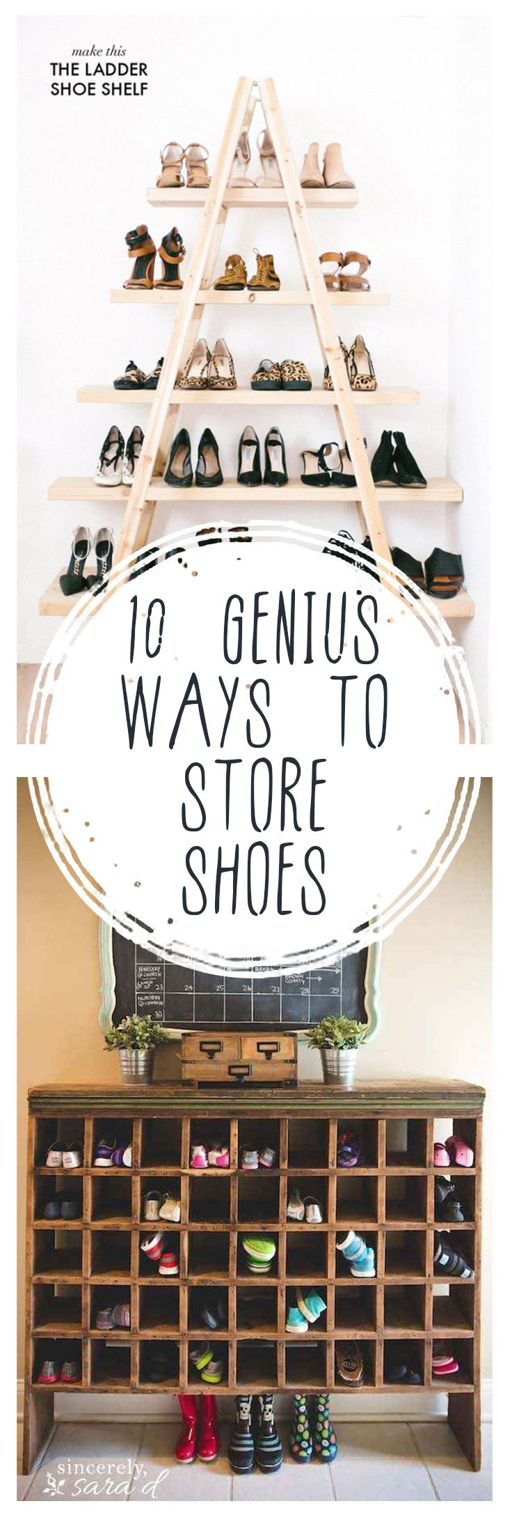 10 Genius Ways to Store Shoes