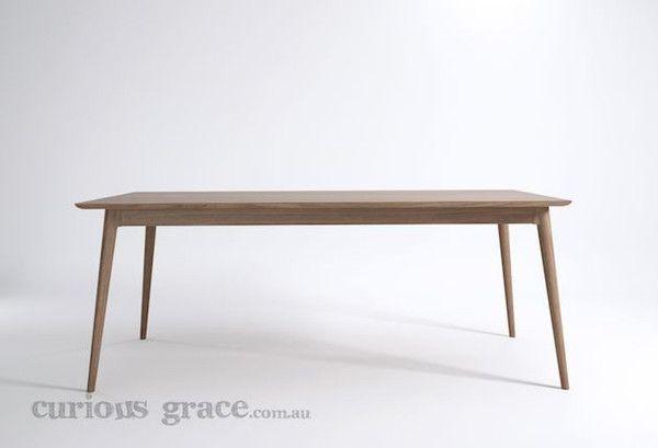 Karpenter Vintage Rectangular Dining Table - Danish style furniture