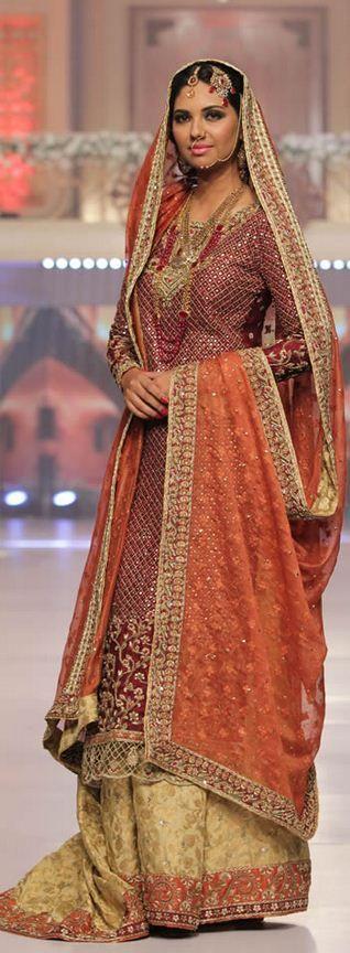 Sana Abbas Collection at Telenor Bridal Couture Week 2015 #TBCW2015
