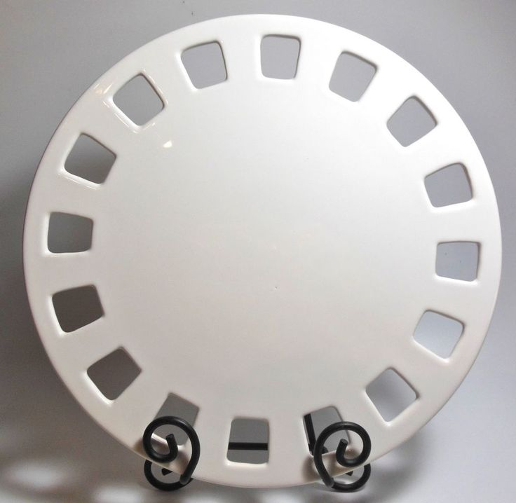 """Southern Living at Home Dress Me Up Plate 12"""" Round 40281 EUC! #SouthernLiving"""