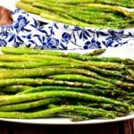 Oven Roasted Parmesan Asparagus is a recipe that is almost to good to be true! It is quick, easy and delicious. This is sure to be a family favorite!