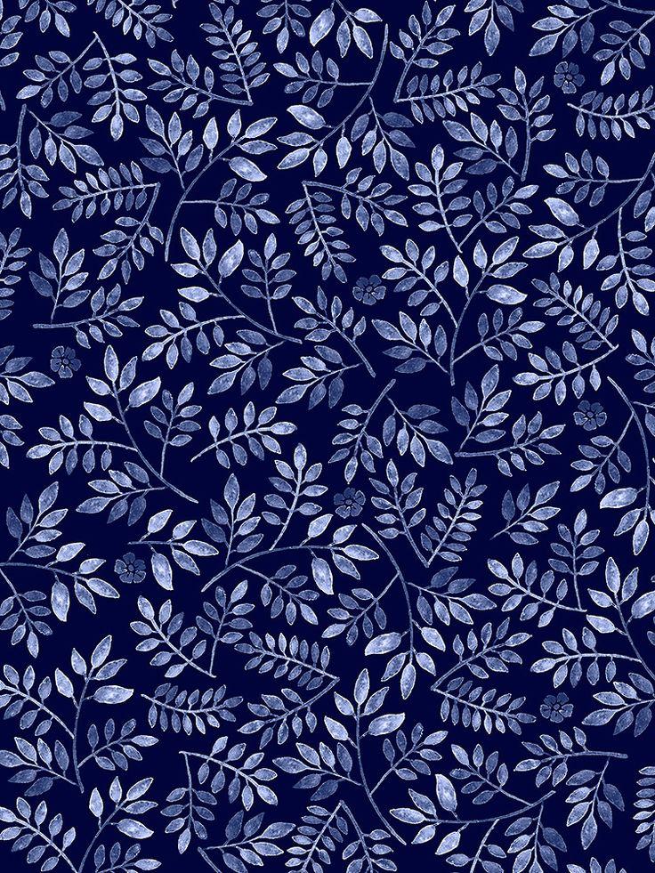 Pattern Play Foliage - by Mahani Del Borrello for Picturette