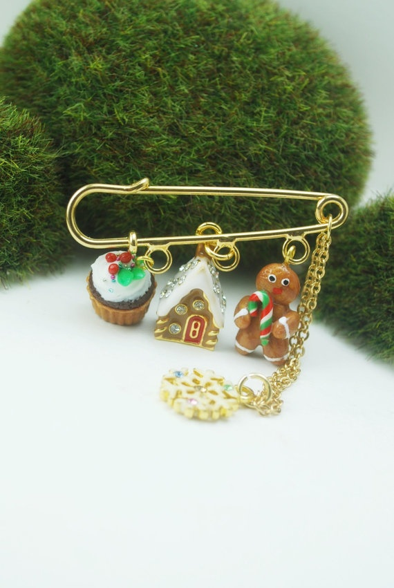 Cute #Christmas #polymer #clay charms