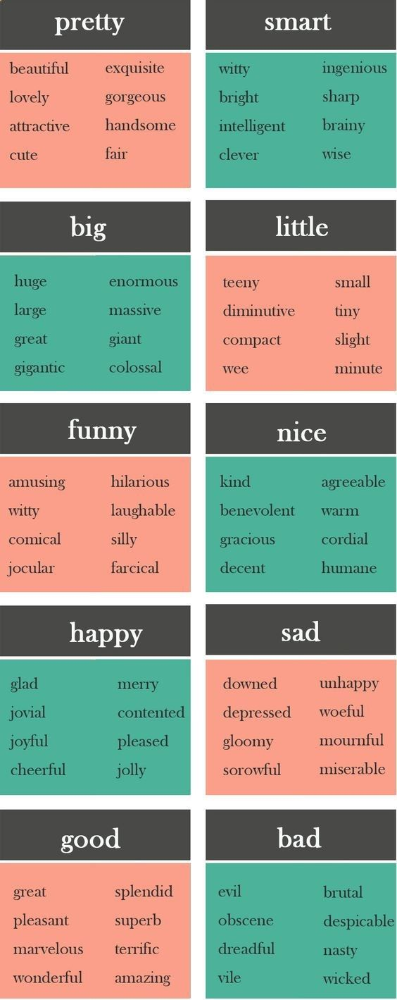 Enrich your vocabulary with these synonymous words #learnenglishhttp://hellolearnenglishwithantriparto.tumblr.com/post/158193825267/