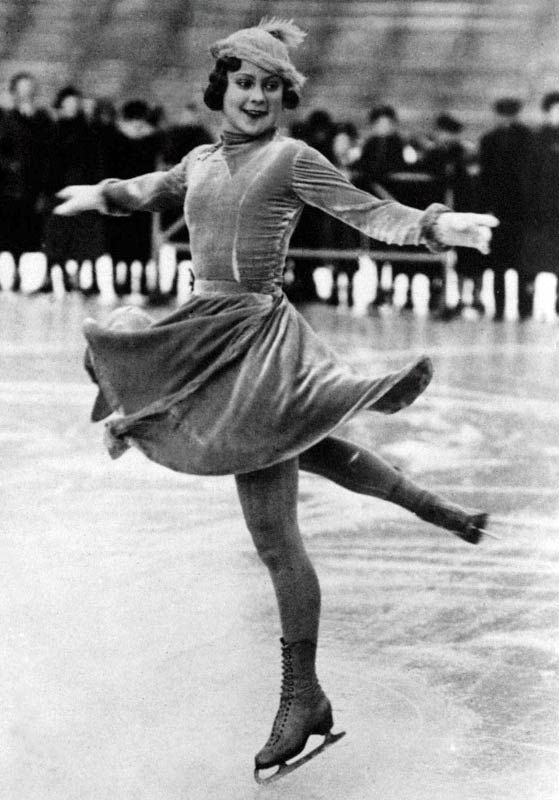 Figure skating was as dull as a compulsory figure eight until Sonja Henie. The Norwegian used her ballet training to create fluid and freestyle programs; at 15 she won the first of 10 straight world titles, to which she added three Olympic golds. Henie went on to star in an ice revue and a dozen lame but popular movies.