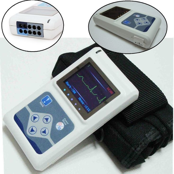 3 Channels ECG Holter, 24 Hours Recorder Analyzer ECG Holter Monitor System, ECG Recorder TLC 9803 #Affiliate