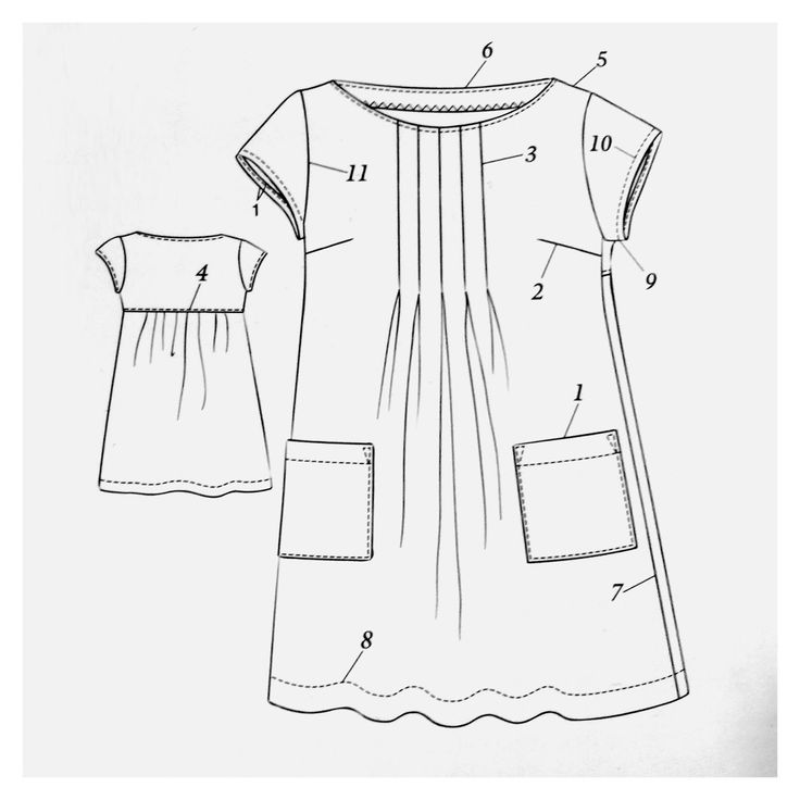 Sometimes the best homemade dresses are the ones that take the least time to make. Dress E from Yoshiko Tsukiori's Stylish Dress Book: Wear with Freedom fits this description. It's a simple pull-over-