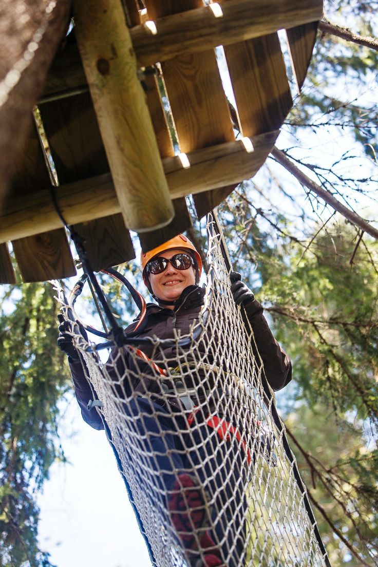 Getting active in Atreenalin Adventure Park (Lappeenranta & Imatra region) Picture by: goSaimaa.com/Mikko Nikkinen