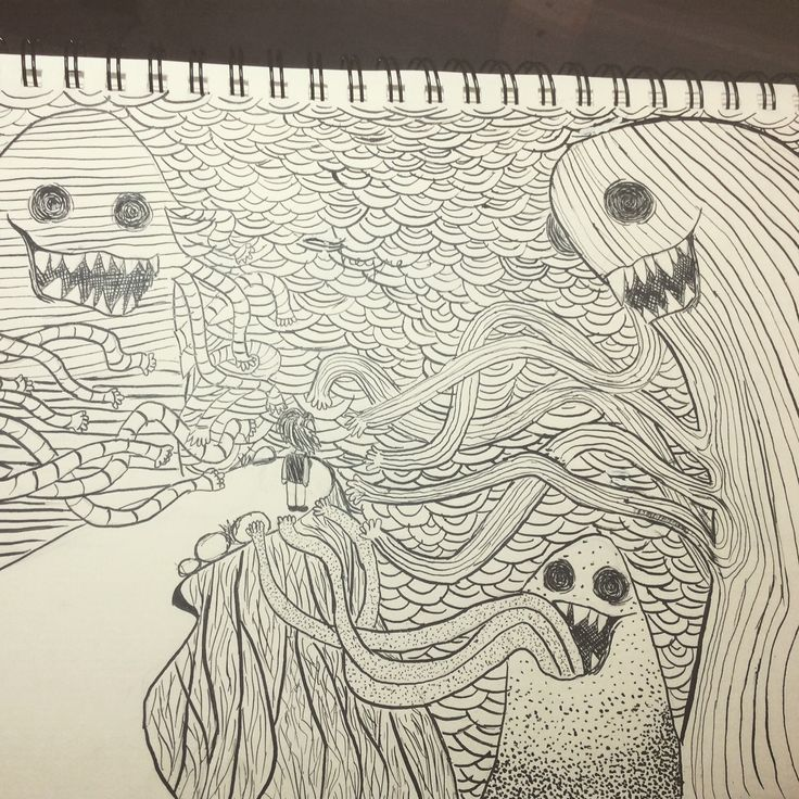 Pen and ink again