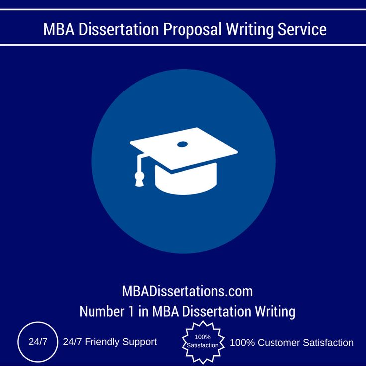 Professional dissertation writing services proposal