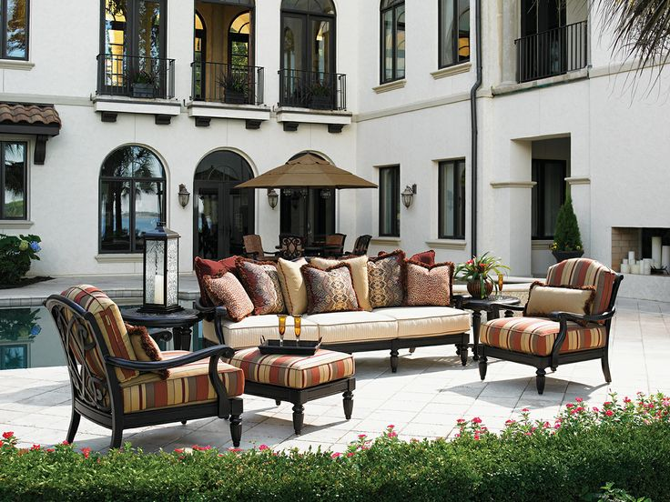 Exceptional Tommy Bahama   Kingstown Sedona Collection. Outdoor Cast Aluminum Deep  Seating Furniture.
