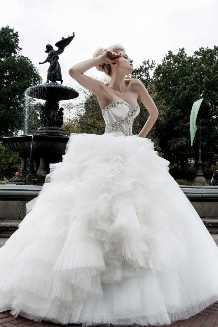 Gorgeous pnina tornai wedding dresses