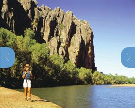 Windjana Gorge à Kimberley, WA ET Tunnel Creek NP