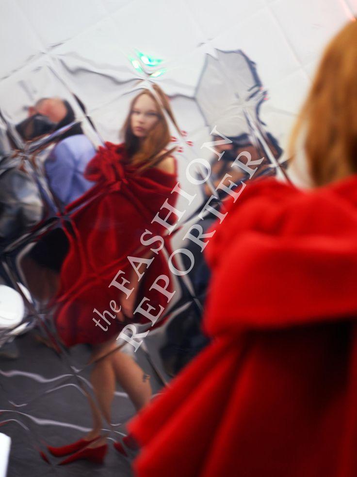 Viktor&Rolf Backstage | Haute Couture Fw14-15 | Ph. Antonello Trio