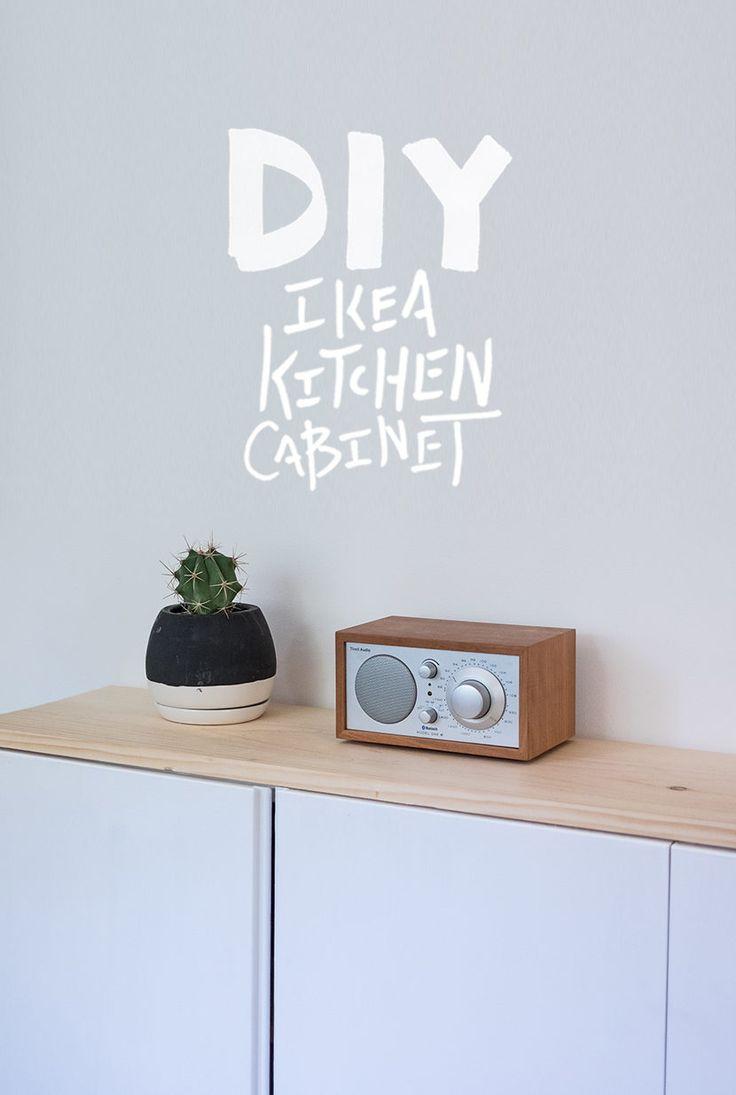 DIY Ikea Kitchen Cabinet   The Fresh Exchange