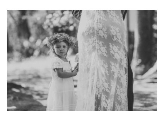 A custom baby's breath crown for this little cutie. Photo by Nina Claire Photographer.