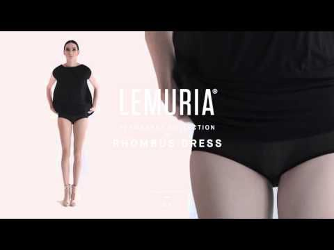 Lemuria - Rhombus Dress.   #woman #clothing #multifunctional #dress #italy #brand #designclothing #design #italianbrand #boutique #cotton #jersey #lemuria #permanent #collection #dress #overall #convertible #convertibledress #lemuria #lemuriastyle #lemuriaclothing #lemuriadress