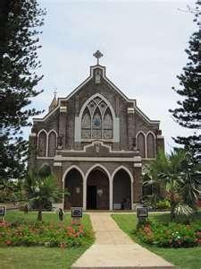 Holy Rosary Catholic Church, Paia, Maui ~ Hawaii. Site of St. Damien Memorial.
