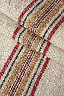Vintage European linen grain sack ...