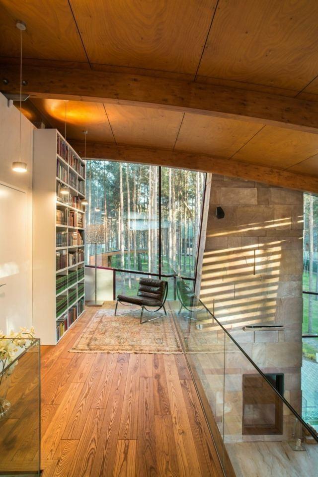 Moderne Häuser - 50 Ideen für die Inneneinrichtung #wohnzimmer ...