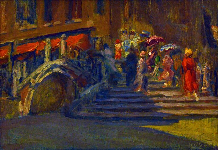 Santa Maria del Salute in Venice | Kunffy Lajos | 1914 | Rippl - Rónai Megyei Hatókörű Városi Múzeum - Kaposvár | CC BY