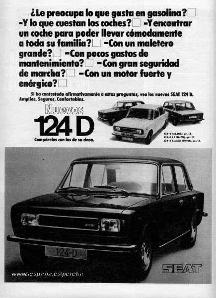 124 D Especial. 1430cc.
