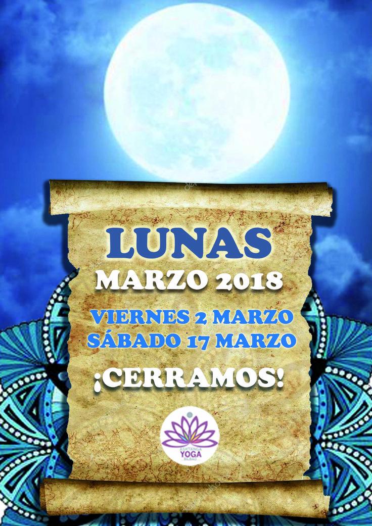 Mañana viernes 2 de marzo es día de luna llena y cerramos las clases. ¡Tómate un descanso y te esperamos el sábado! http://www.ashtangayogabilbao.com/lunas.php http://blog.ashtangayogabilbao.com/2017/10/por-que-no-se-practica-ashtanga-yoga-en.html