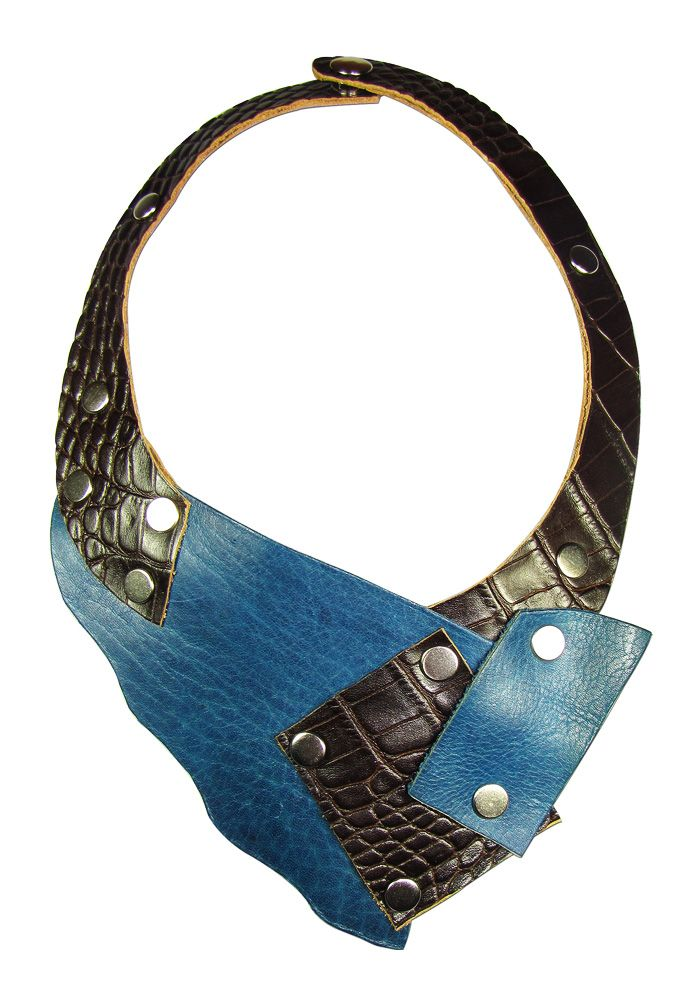 In this article, leather necklace designs and styles with you. Leather necklace with provocative design.