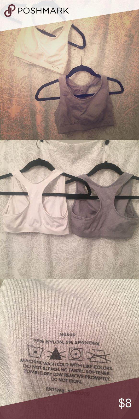 Champion sports bra bundle 2 racerback sports bras in great condition. Worn only a couple of times. 📦 bundle and save! Champion Intimates & Sleepwear Bras